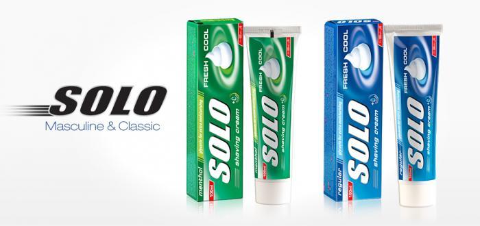 Solo Shaving Cream 100 ml